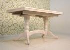 стол обеденный раздвижной с керамогранитом 140х70 см.