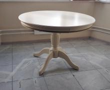 стол круглый слоновая кость
