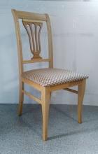 стул деревянный полумягкий