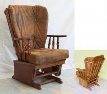 кресло-качалка с маятниковым механизмом
