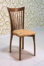 стул деревянный полумягкий 'Миранда' дуб