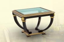 стол журнальный квадратный стеклянный