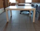 стол белый раздвижной