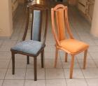 стул деревянный мягкий 'Силуэт'