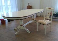 стол три метра длиной