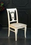 стул деревянный слоновая кость