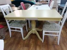 стол прямоугольный крем